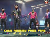 Kode Redeem FF  Terbaru  Agustus 2021 Gratis Untuk Kalian Yang Beruntung