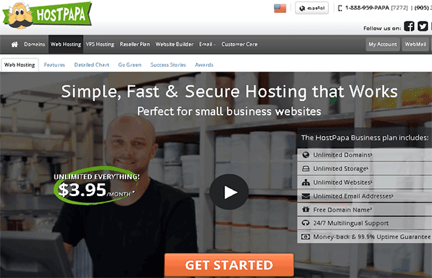 What is a hosting company HostPapa ? | best hosting