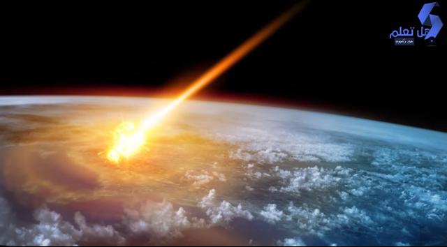 10 تسجيلات حقيقية لنيازك تسقط على كوكب الأرض.!!