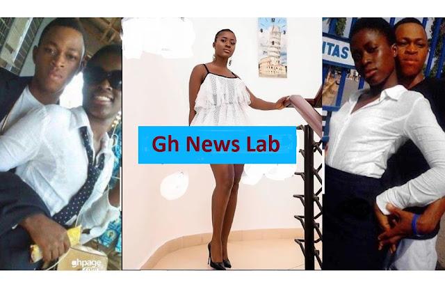 Photos of Fella Makafui and 'School days Boyfriend' pops up