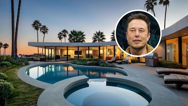 Elon Musk bán nhà