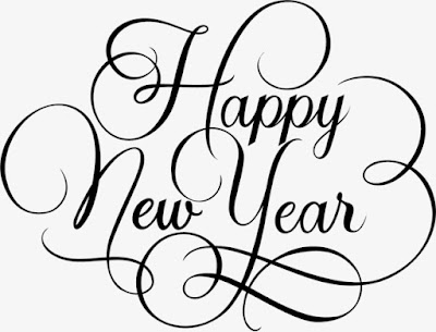 happy new year 2020 images in black and white