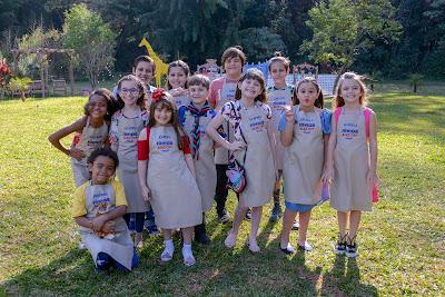 As crianças que participam desta temporada (Crédito: Zé Paulo Cardeal/SBT)
