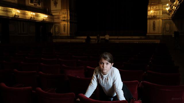 Il teatro del Palazzo Reale a Napoli. Fotografia con la Fuji X-T2