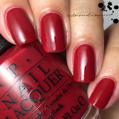 swatch and review of Amore at the Grand Canal from opi 2015 venice collection
