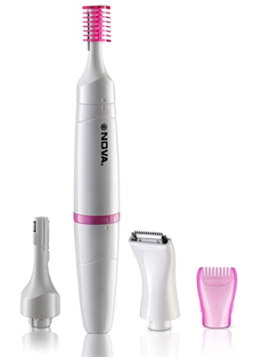 Nova NLS 530 Bikini Trimmer for Women to Easily remove any unwanted hair in one go