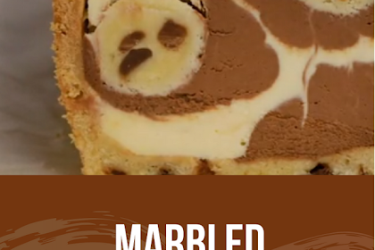 Marbled Chocolate Chip Cookie Dough Loaf