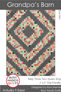 Grandpa's Barn by Myra Barnes of Busy Hands Quilts
