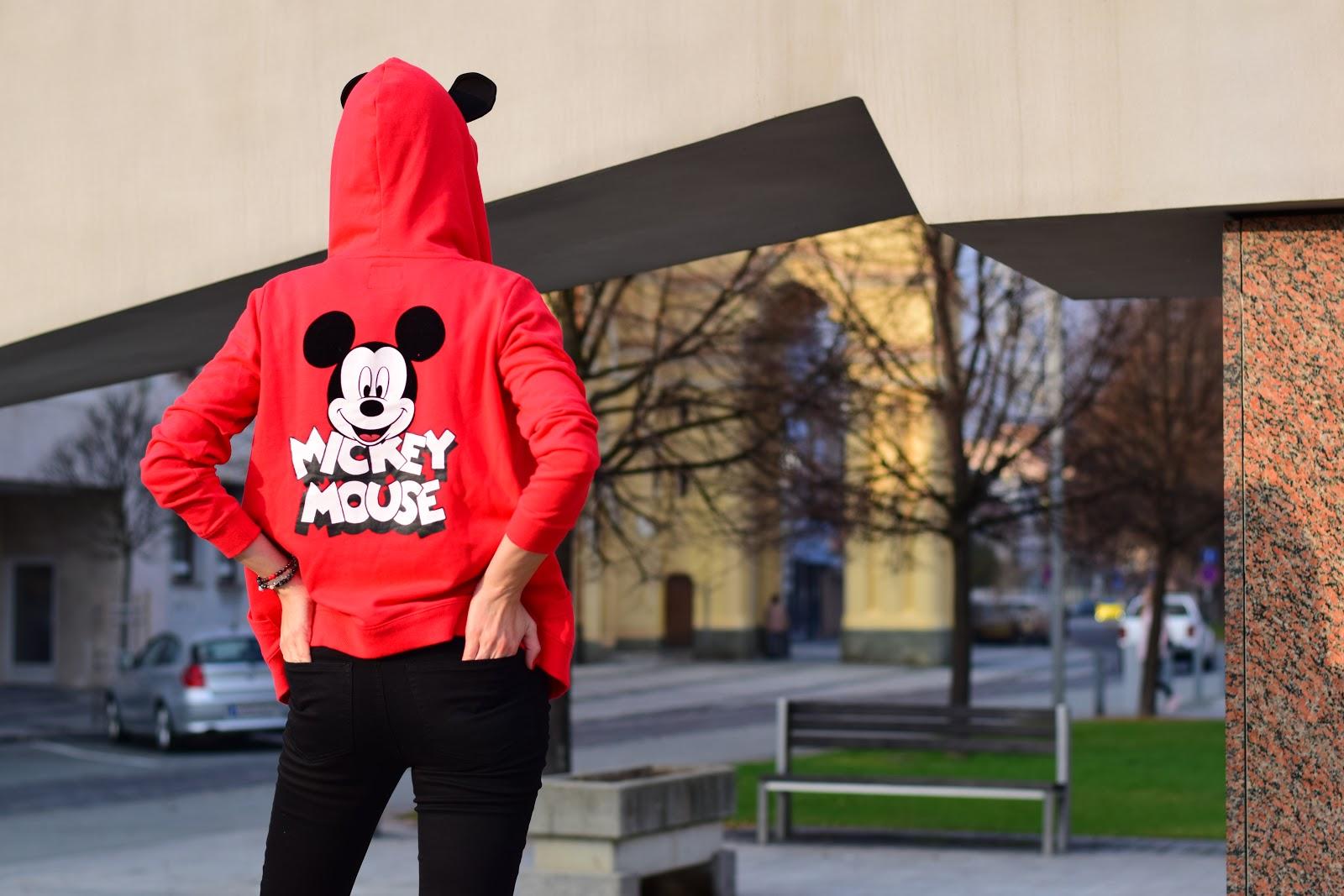 mickey mouse oslavuje 90.narodeniny #2 // športový outfit