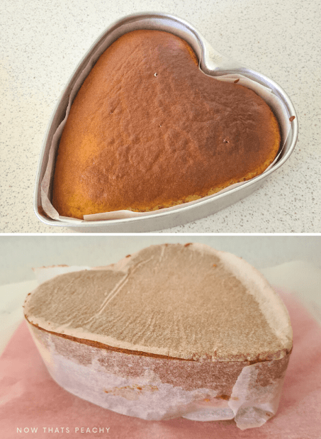 how to make a heart shaped cake the easy way