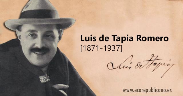 Luis de Tapia Romero