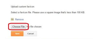 How To Add Favicon In Blogger