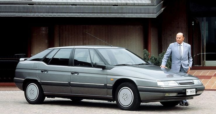 Mania dos Kits: Série: 100 anos Citroën - XM, o último verdadeiro Citroën?