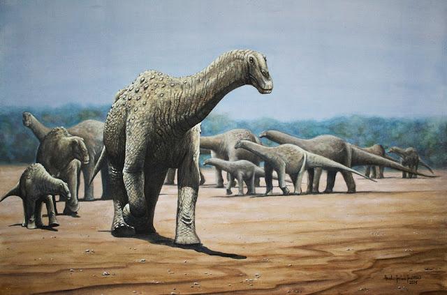 Dinossauro Arrudatitan maximus, o titanossauro único no Brasil