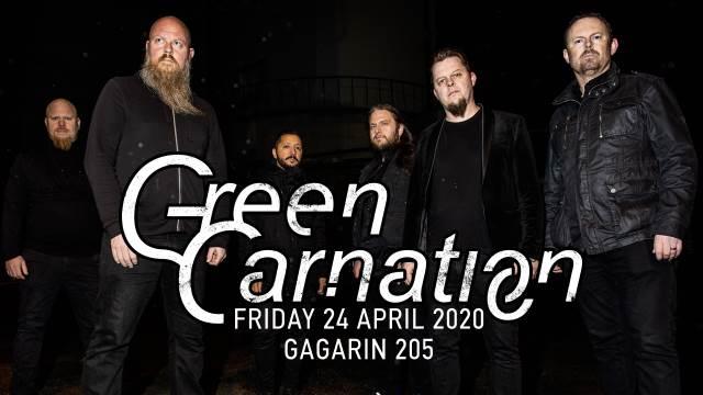 GREEN CARNATION: Παρασκευή 24 Απριλίου @ Gagarin 205