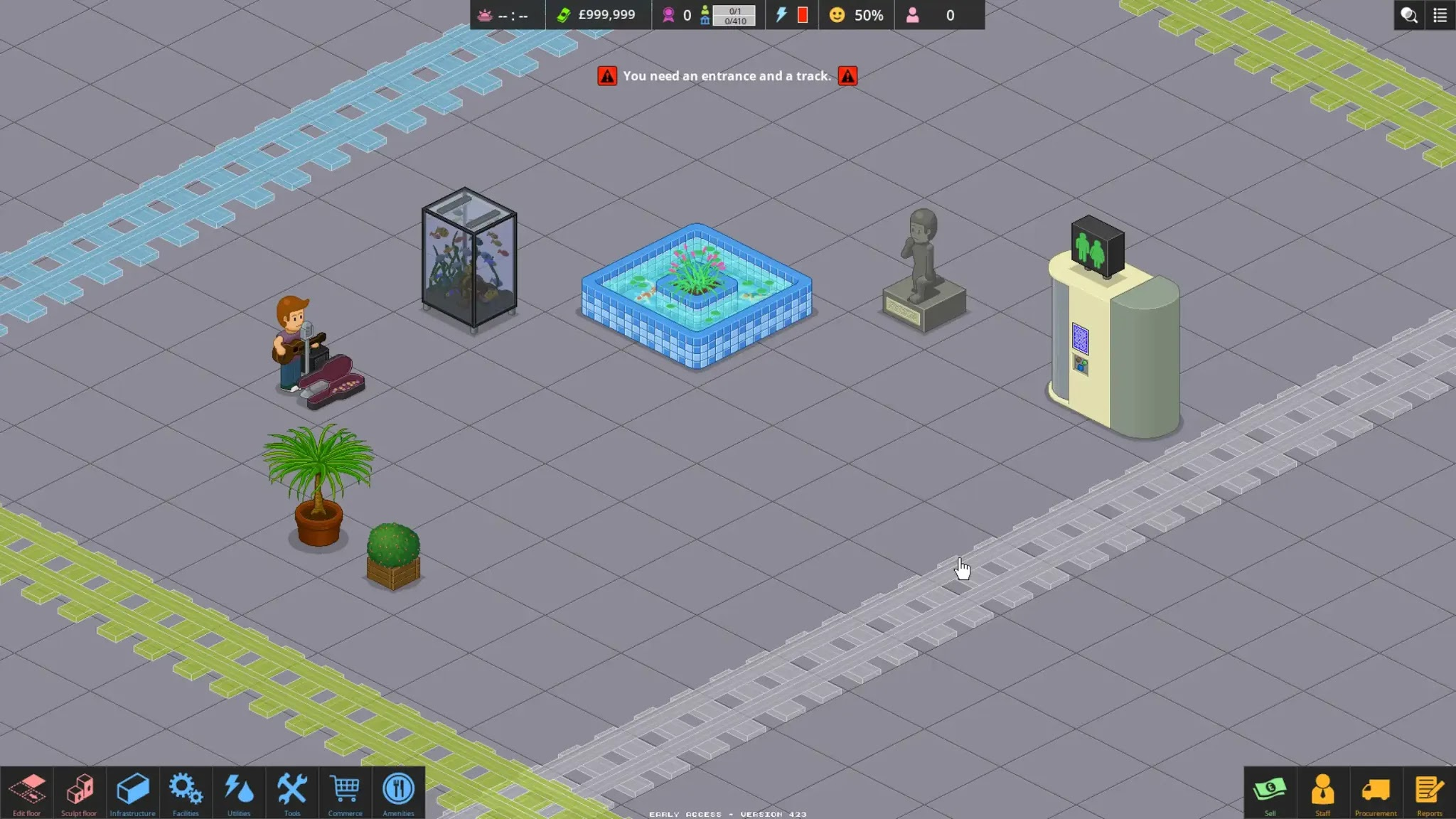 Overcrowd Toilets and Prestige Items
