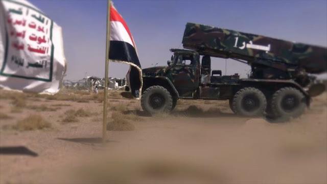 Yemen lanza lluvia de cohetes contra un campo militar saudí