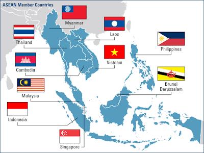 Kondisi Geografi Wilayah Asia Tenggara