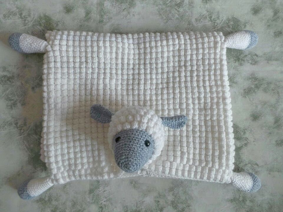 34a33e993532 Crochet Pattern  3 in 1 Decorative Cuddly Sheep Toy Baby Pram ...