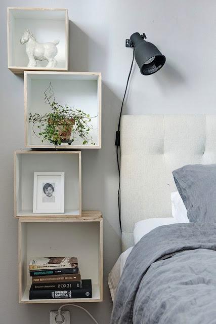 Tủ đính vào tường là giải pháp hiệu quả giúp bạn tiết kiệm diện tích