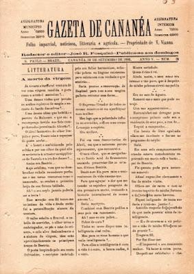 História do Vale do Ribeira nas páginas dos antigos jornais