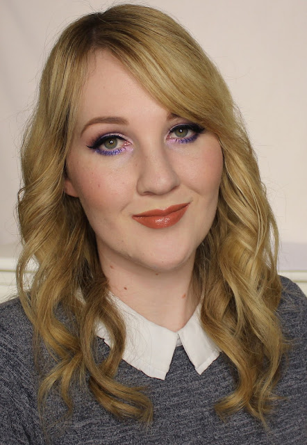 L'Oreal Lip Paint Lacquer - Gone With The Nude Swatches & Review