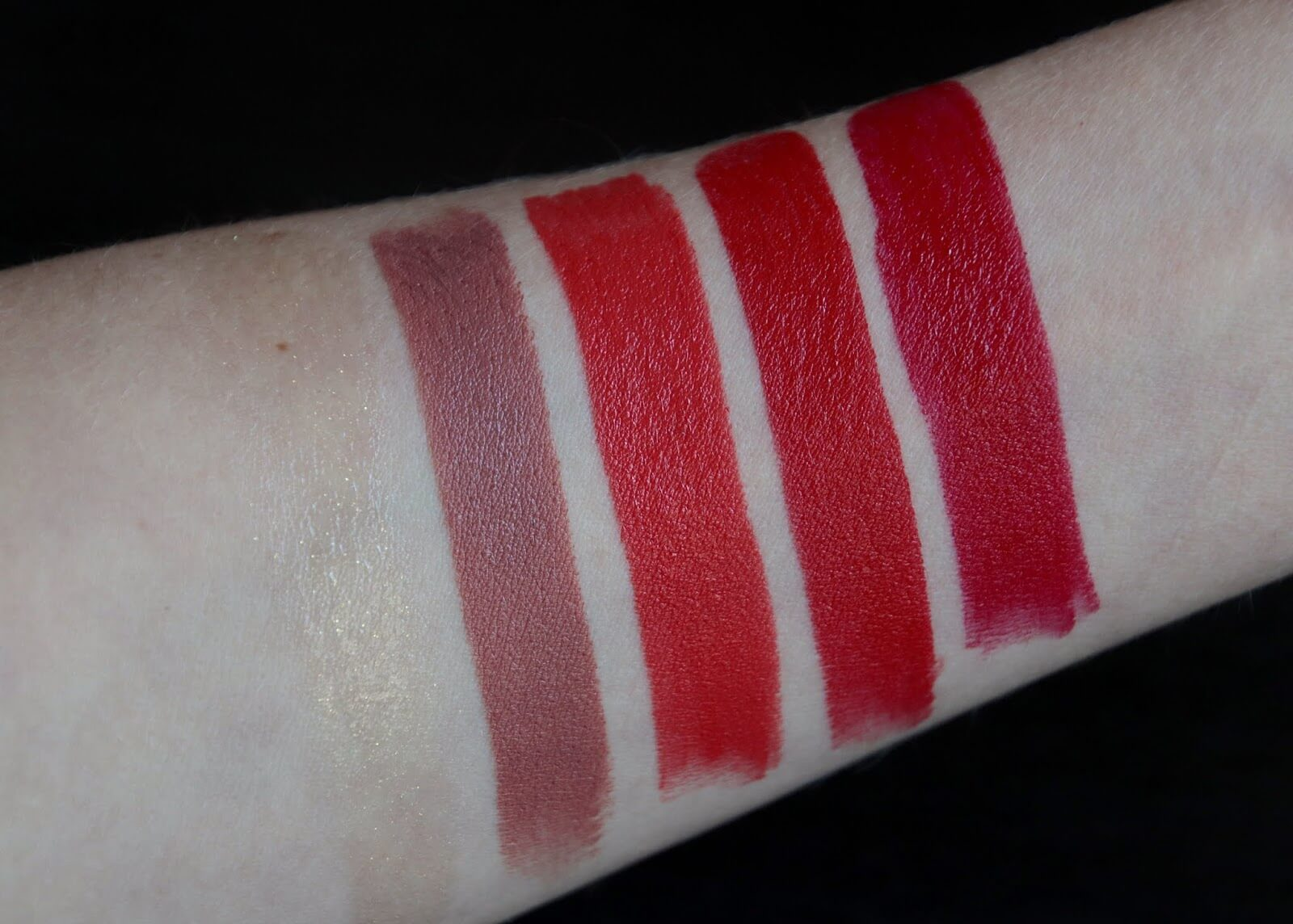 loccitane rouge de fruit swatch et avis