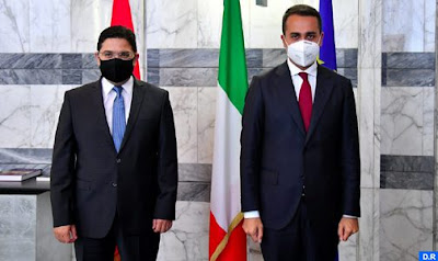 M. NASSER BOURITA S'ENTRETIENT AVEC SON HOMOLOGUE ITALIEN