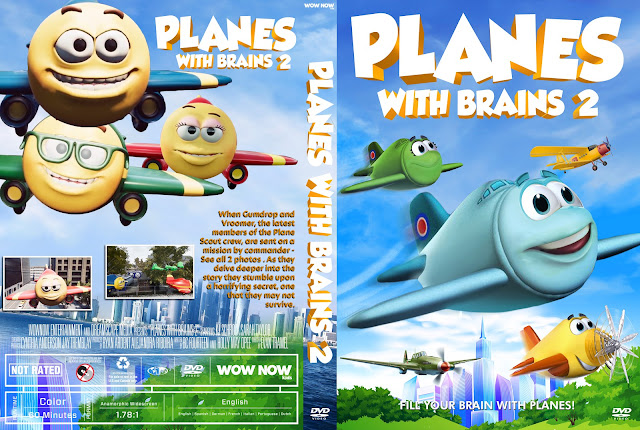 Planes with Brains 2 DVD Cover