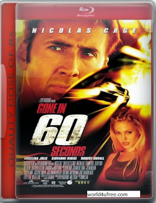Gone in Sixty Seconds (2000) 480p 300MB Blu-Ray Hindi Dubbed Dual Audio [Hindi – English] MKV
