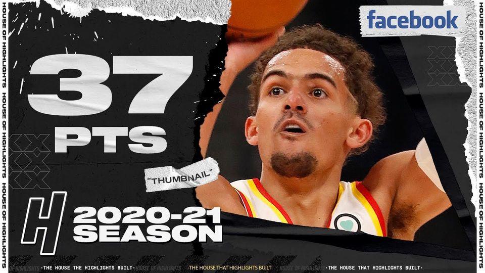 Trae Young 37pts 6ast vs TOR | March 11, 2021 | 2020-21 NBA Season
