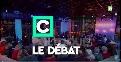 TV studio, audience, C Le Débat,