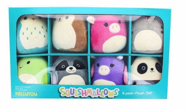 Squishmallows minis 8 Pack Plush Set