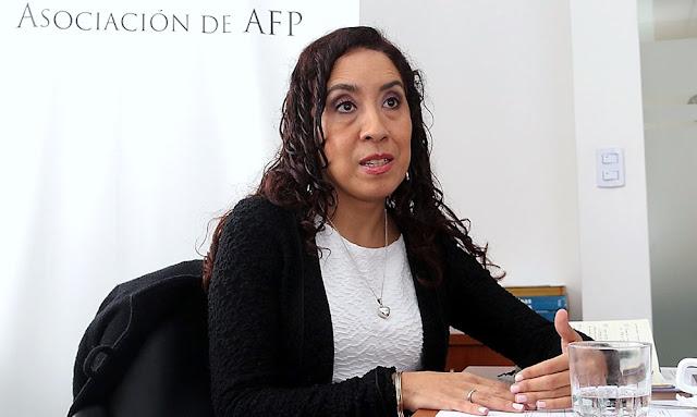Asociación de AFP, Giovanna Prialé