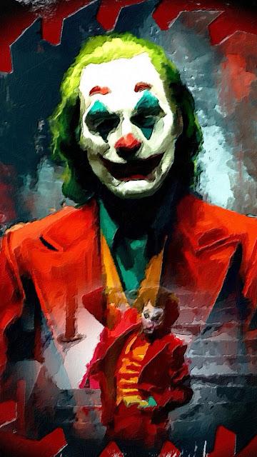 Joker art background wallpaper