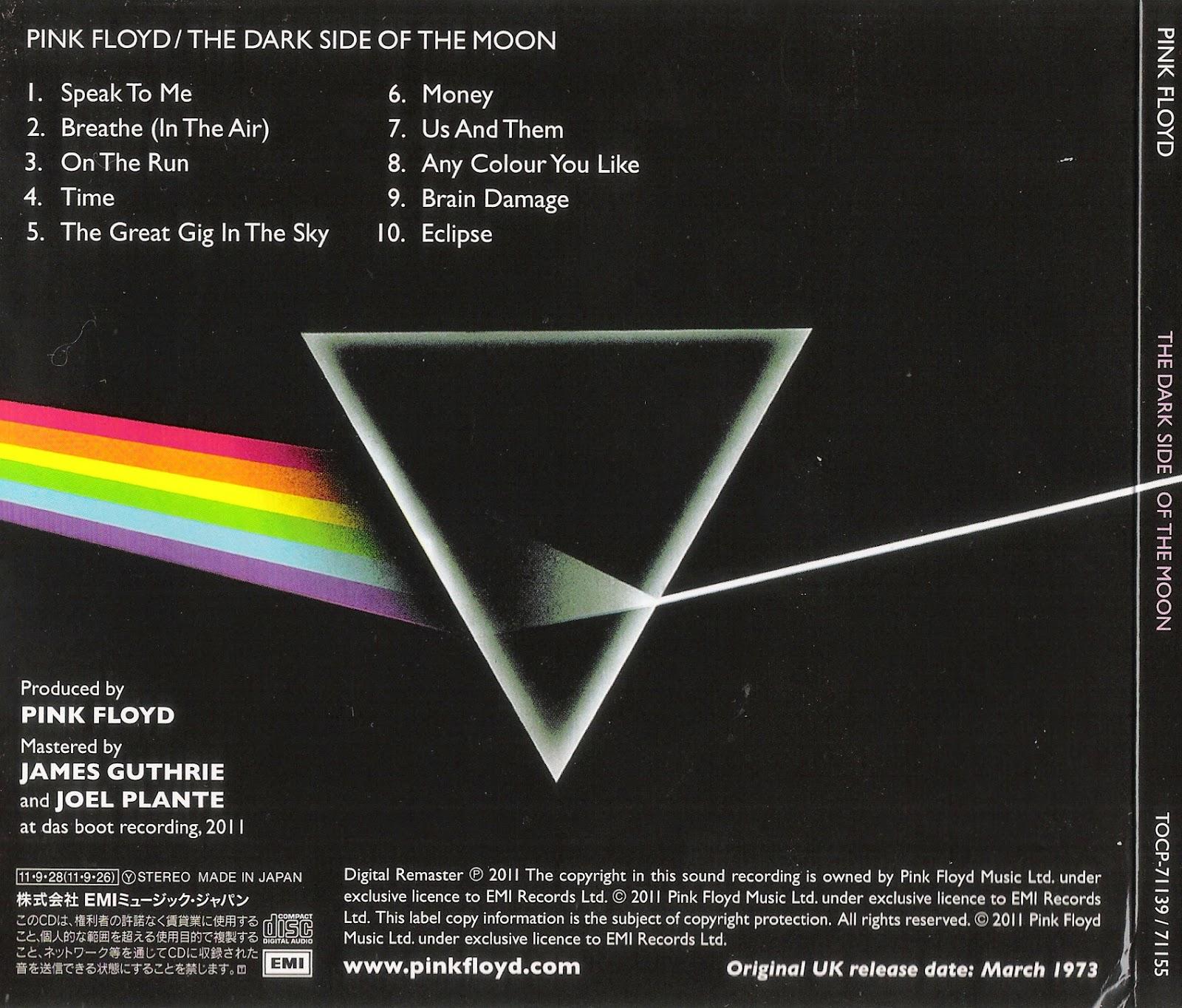 pink floyd dark side of the moon lyrics pdf