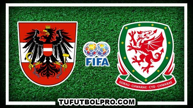 Ver Austria vs Gales EN VIVO Por Internet Hoy 6 de Octubre 2016