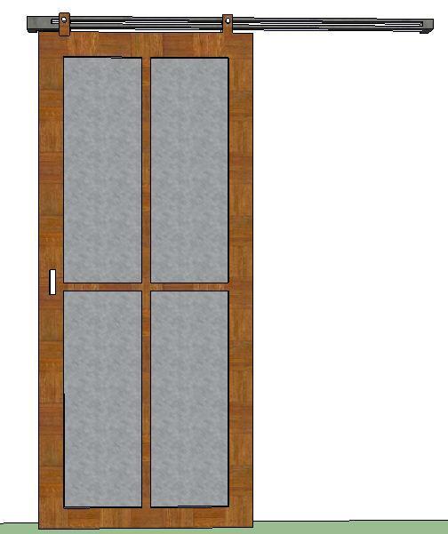 Ide 23 Cara Membuat Pintu Geser Dari Bambu