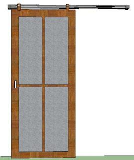 Cara Membuat Pintu Geser Kayu Biaya Murah