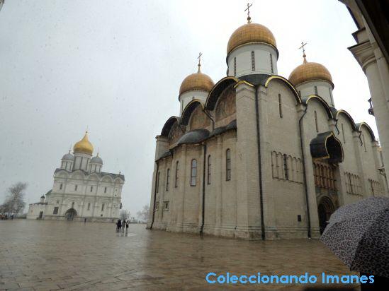 Kremlin de Moscú: iglesia de la Asunción
