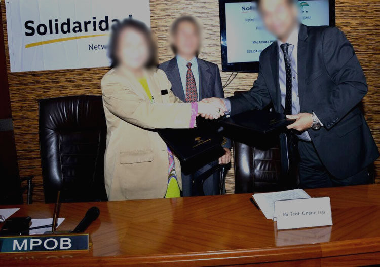 Solidaridad joins hands with mpob