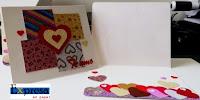 tarjeta de san valentin hecha a mano te amo