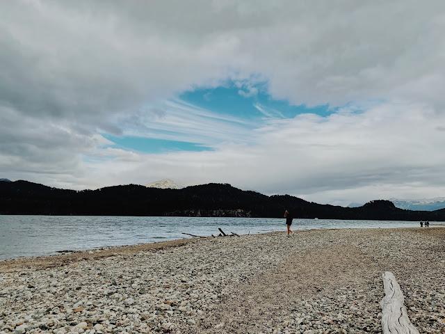Itinerario 3 días villa la angostura - que hacer 3 días en villa la angostura - playita playa rio bonito