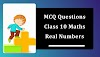 MCQ Questions for Class 10 Maths Chapter 1 Real Numbers with Answers