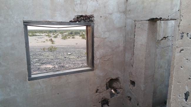 Urban Exploration of Buffalo Bill Cody Abandoned Stone House Ruins in Dateland, Arizona