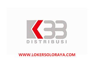 Loker Kartasura Bulan Juli 2020 di PT K33 Distribusi - Portal Info Lowongan  Kerja Terbaru di Solo Raya - Surakarta 2020