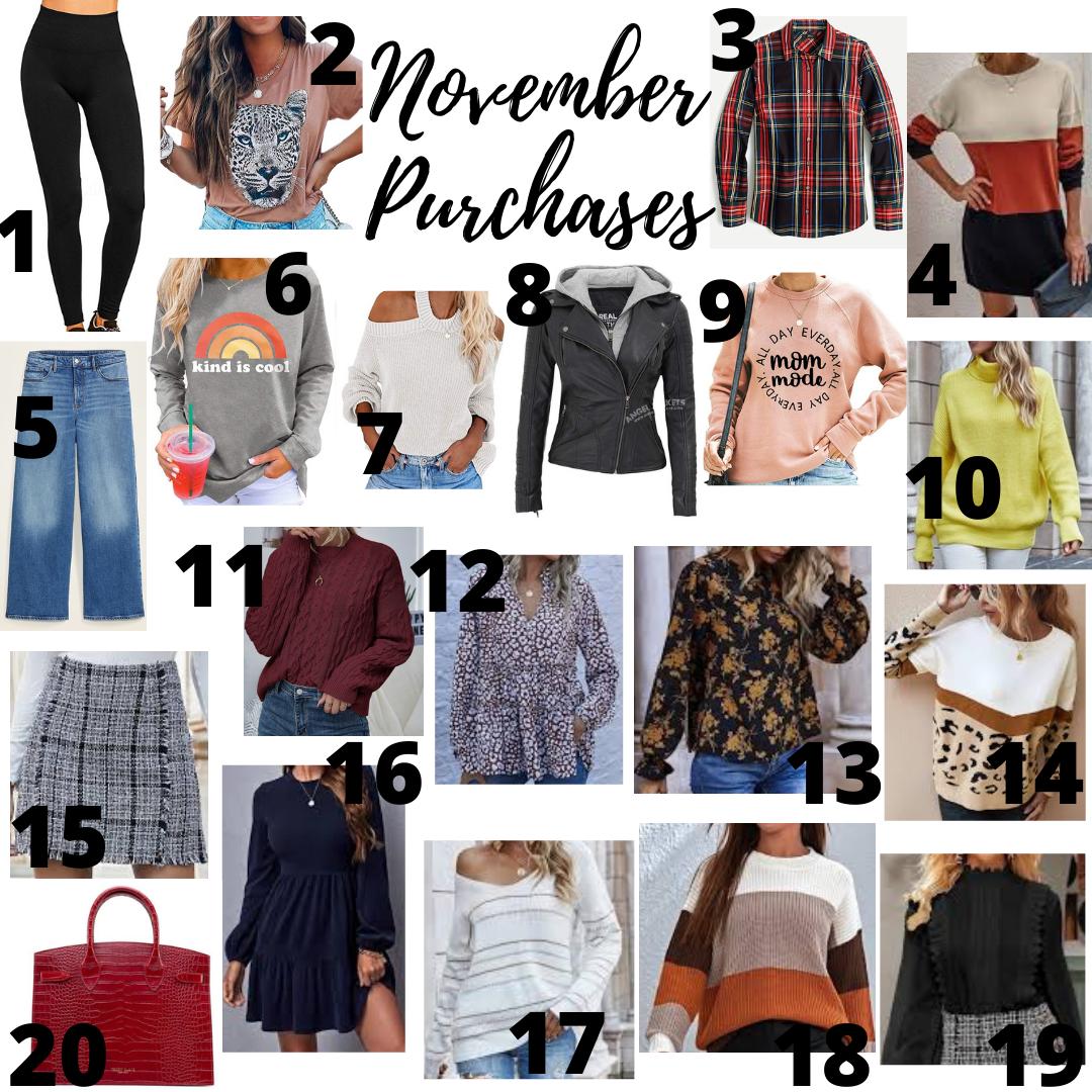 November Purchases