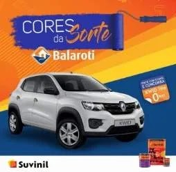 Cadastrar Promoção Suvinil Cores da Sorte Balaroti - Carro 0KM