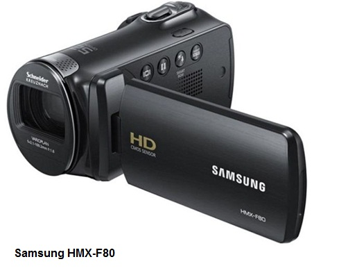 Samsung HMX-F80 camcorder
