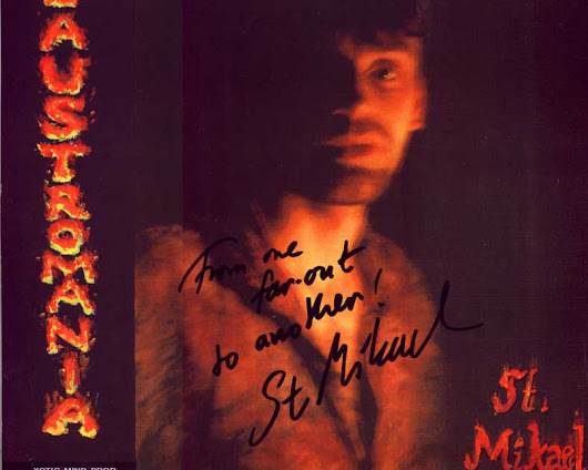 "S.T. Mikael ""Claustromania"" 1990 Sweden Psych Rock 100 copies limited 2nd LP + insert Xotic Mind Productions"